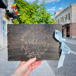 """Guestbook """"Wedding day"""""""