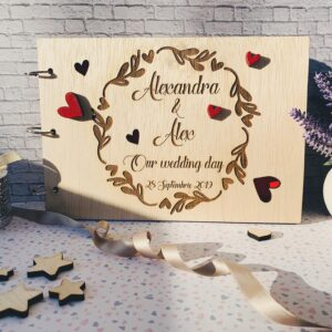 """Guestbook """"Hearts"""""""